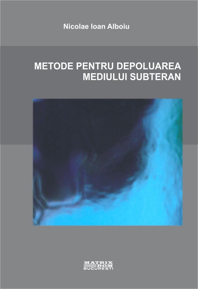 Metode pentru depoluarea mediului subteran