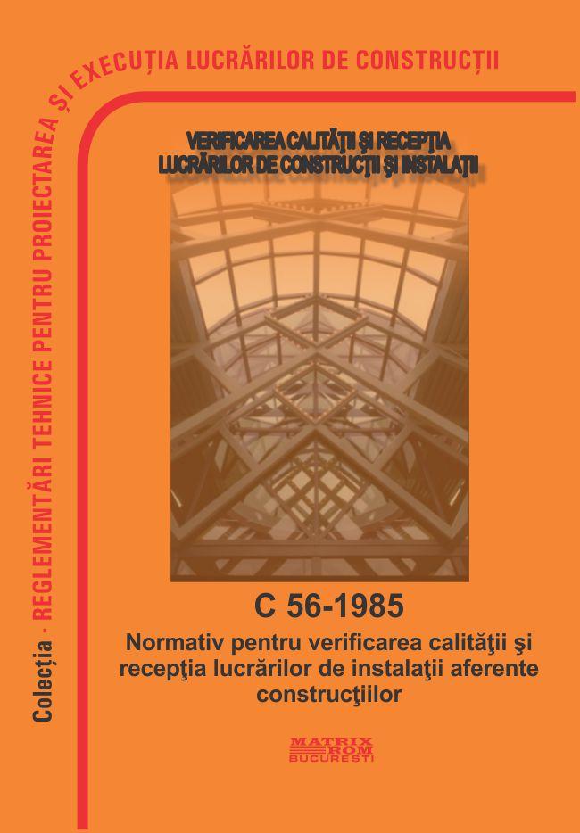 Verificarea calitatii si Receptia Lucrarilor de Constructii si Instalatii