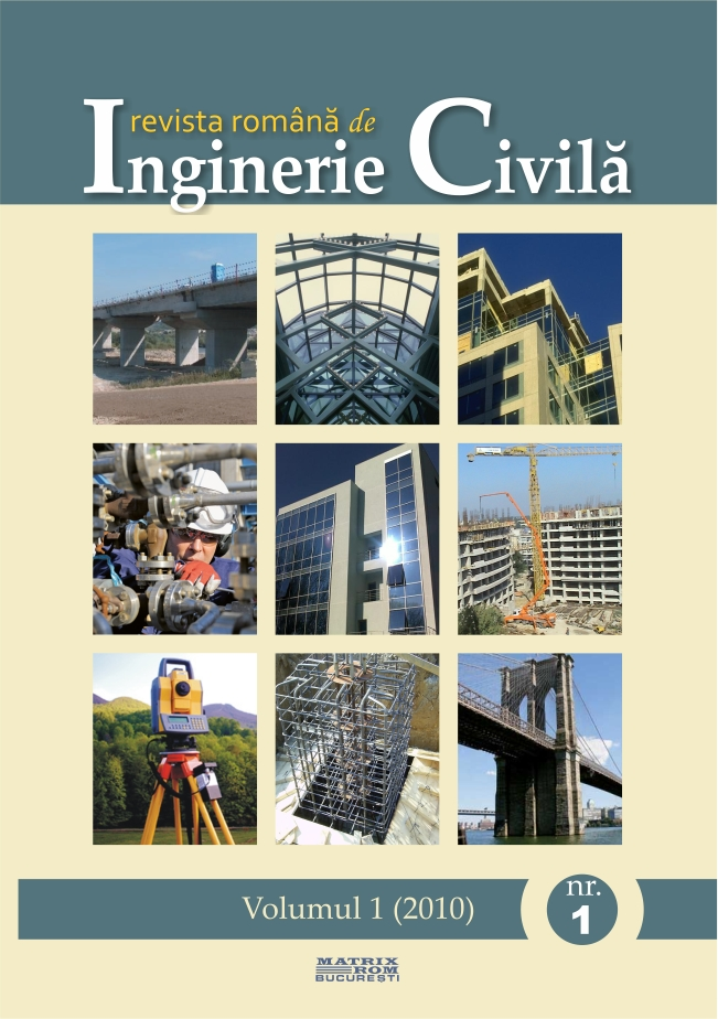 Revista de Inginerie Civila vol. 1 nr. 1
