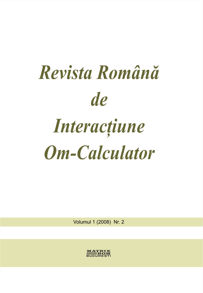Revista Romana de Intarctiune Om-Calculator vol. 1