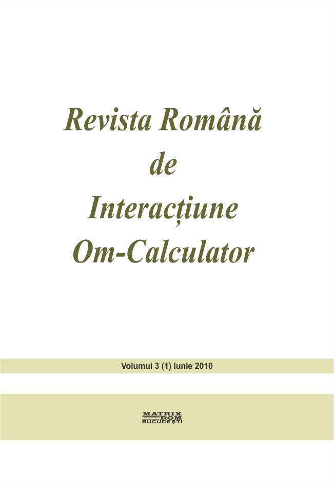 Revista Romana de Intarctiune Om-Calculator vol. 3