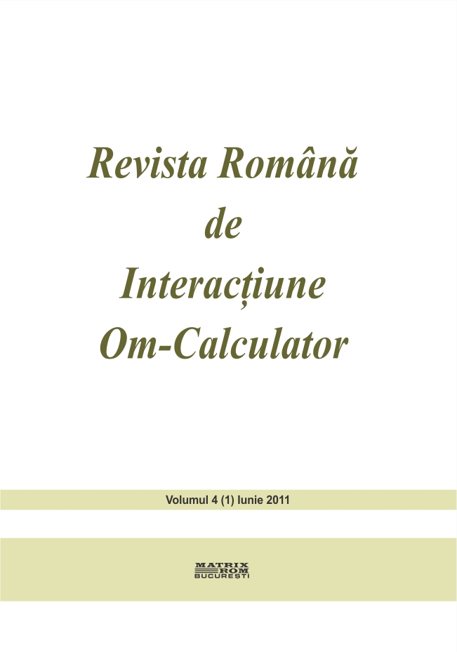 Revista Romana de Intarctiune Om-Calculator vol. 4