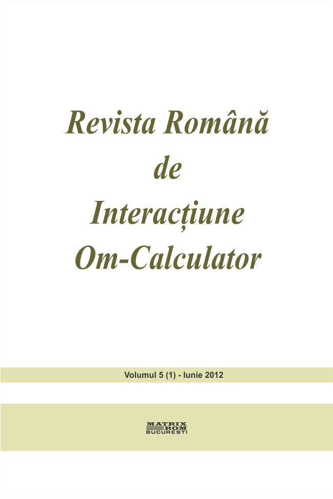 Revista Romana de Intarctiune Om-Calculator vol. 5