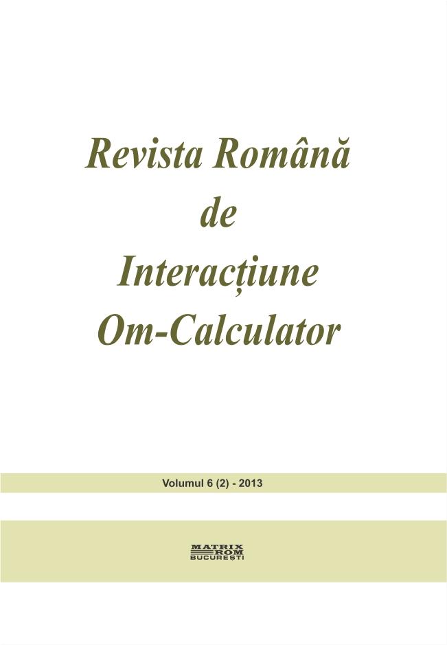 Revista Romana de Intarctiune Om-Calculator vol. 6