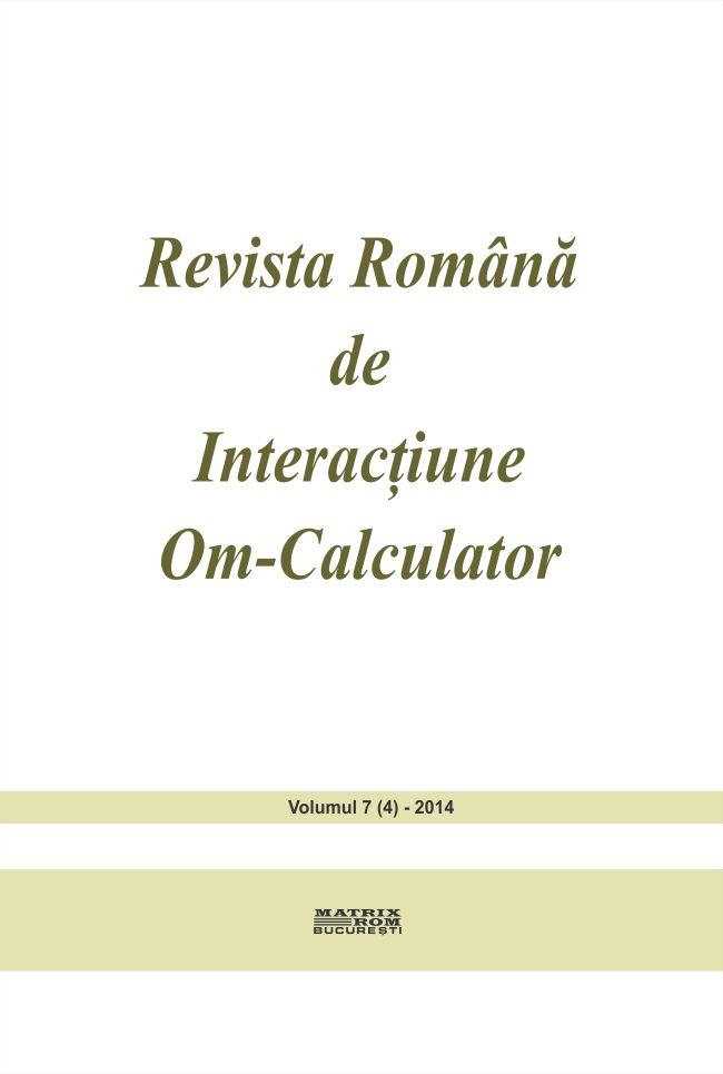 Revista Romana de Intarctiune Om-Calculator vol. 7