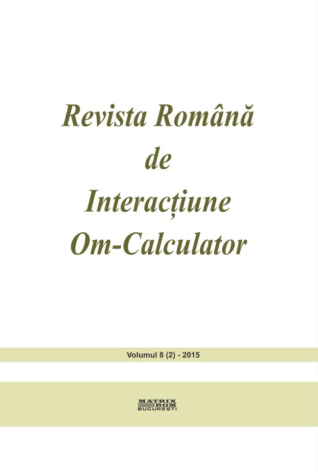 Revista Romana de Intarctiune Om-Calculator vol. 8