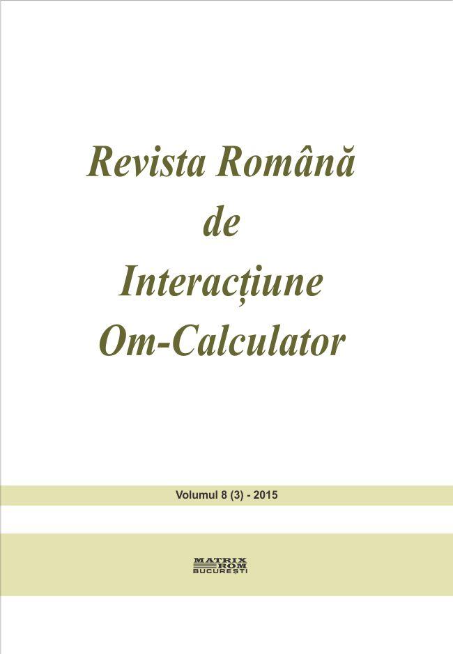 Revista Romana de Intarctiune Om-Calculator vol. 8