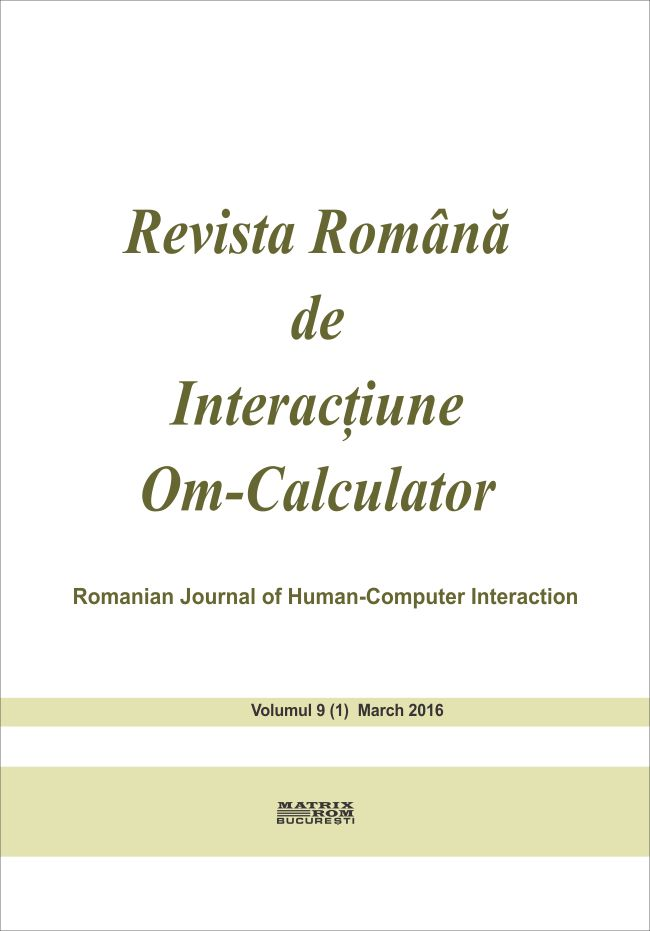 Revista Romana de Intarctiune Om-Calculator vol. 10