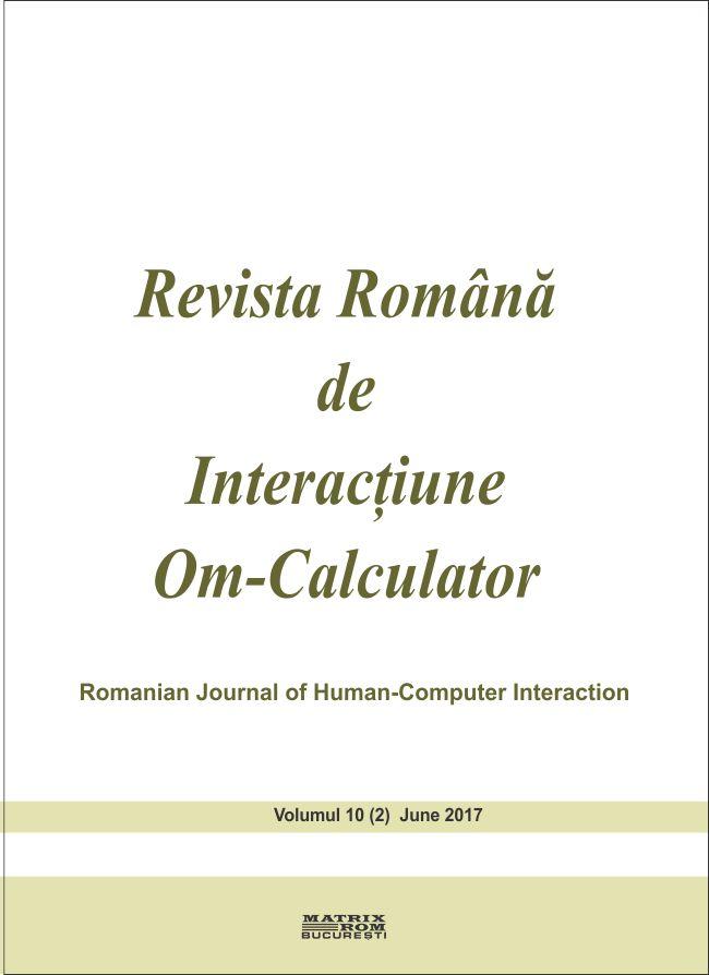 Revista Romana de Intarctiune Om-Calculator vol. 10