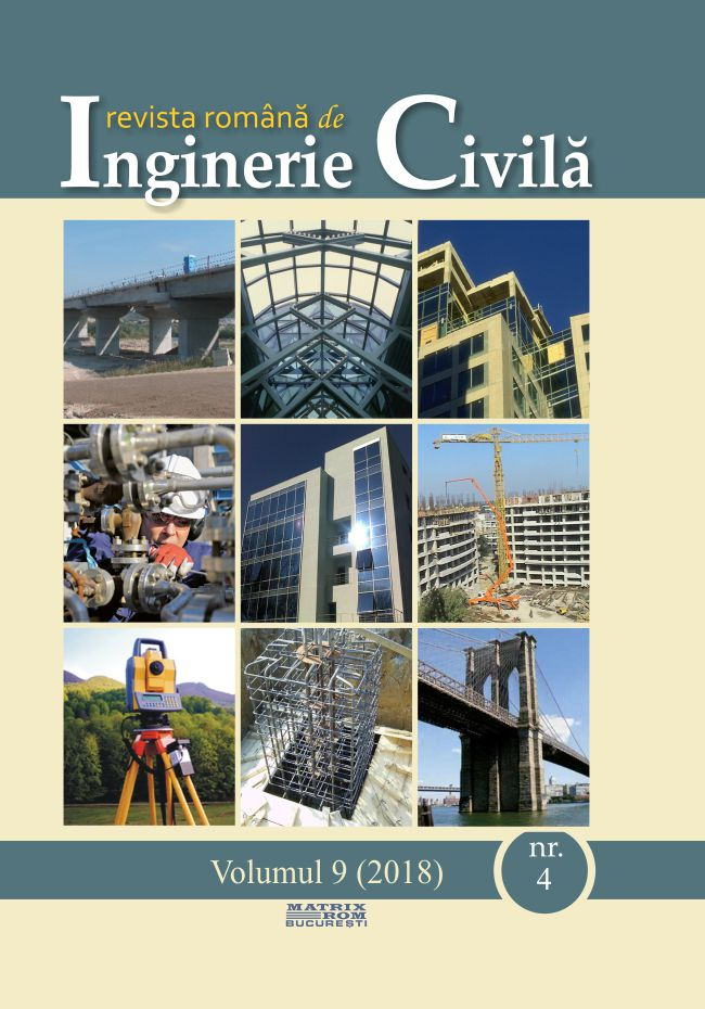 Revista de Inginerie Civila vol. 9 nr. 4