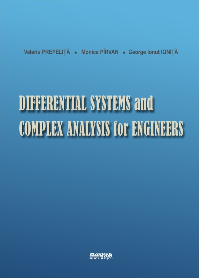 Differential Systems and Complex analysis for Engineers