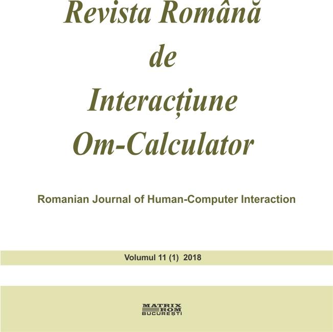 Revista Romana de Interactiune Om-Calculator - vol. 11
