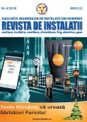 Revista de instalatii nr. 6/2018