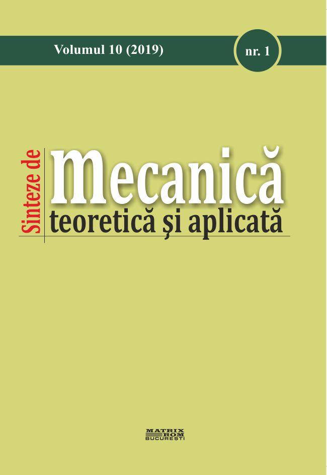 Sinteze de Mecanica teoretica si aplicata - nr. 1 Vol.10
