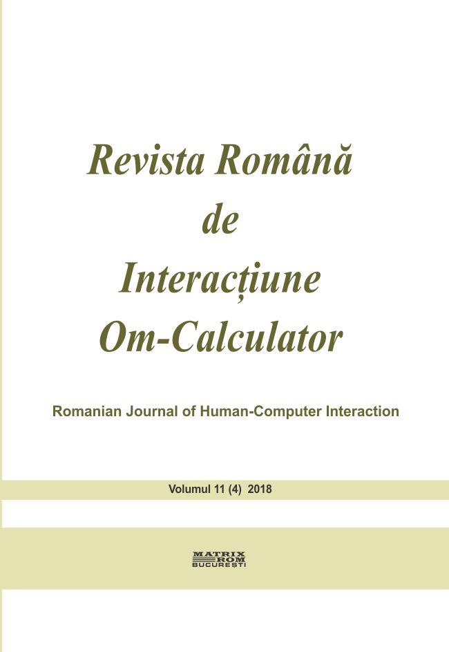 Revista Romana de Interactiune Om- Calculator vol. 11
