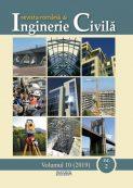Revista Inginerie Civila - vol. 10 nr. 2