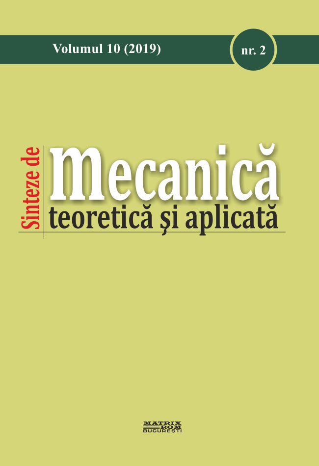 Sinteza de Mecanica Teorica si Aplicata nr.2 vol. 10