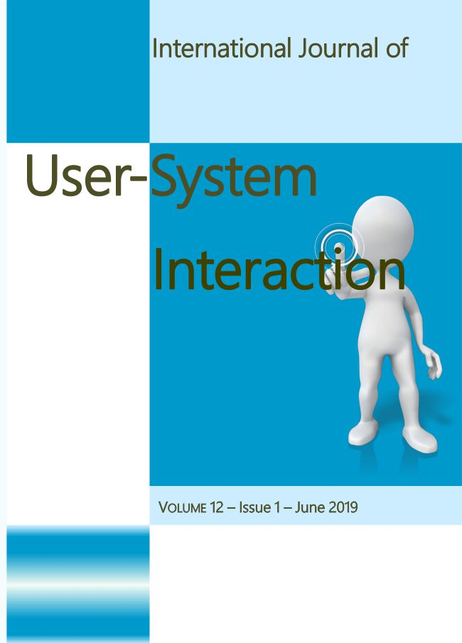 International Journal of User-System Interaction vol. 12