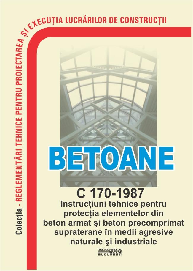 Betoane - C 170-1987