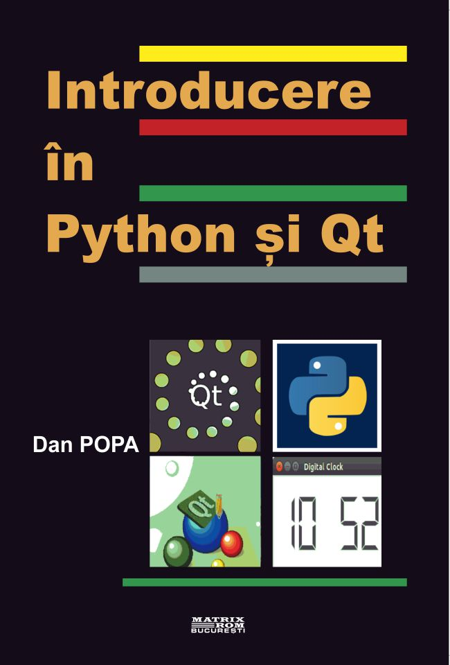Introducere in Python Si Qt - Dan Popa