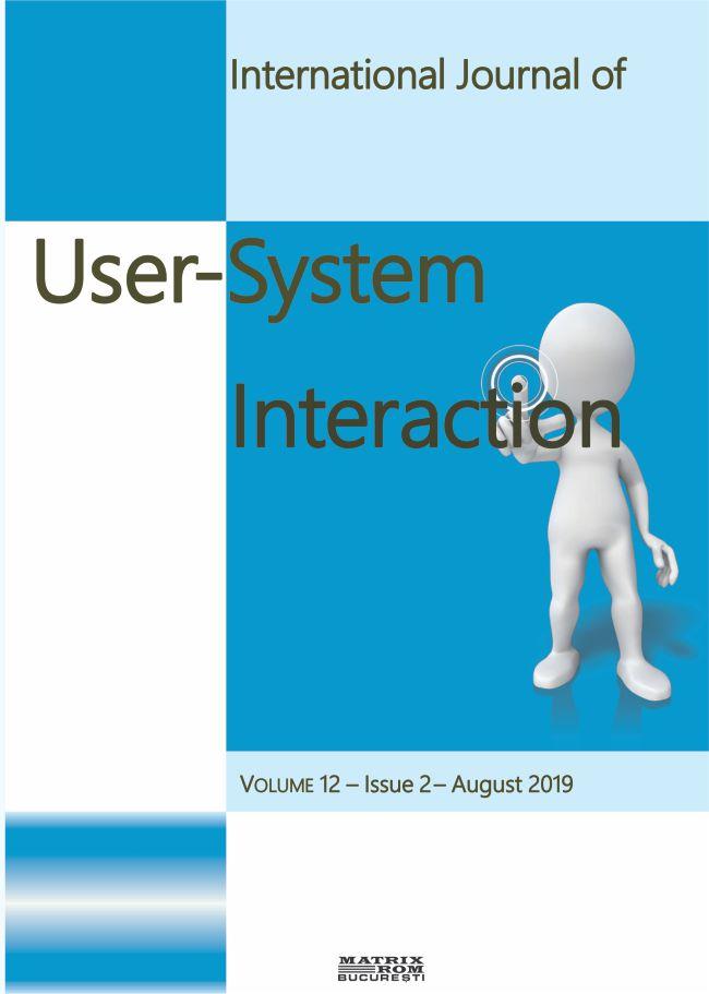 Internation Journal of User-System Interaction vol. 12
