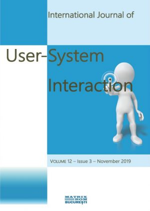Internation Journal of User-System Interaction