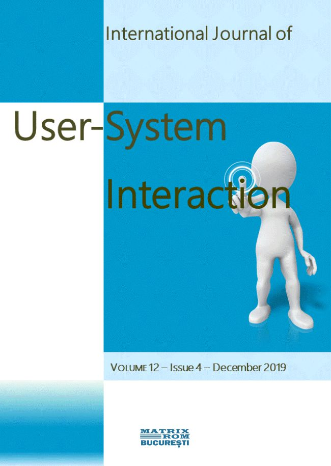 Internationl Journal User-System Interaction